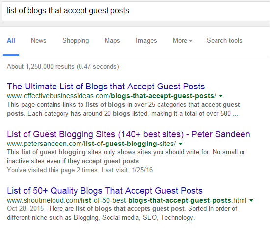 How to Find the Right Blogs for Your Guest Post | Effective