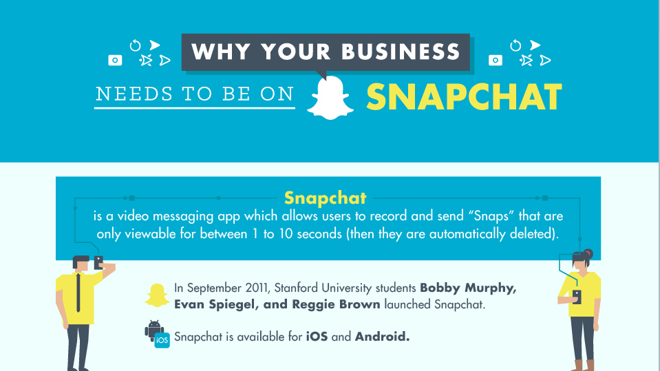 Is Snapchat Good for Business? [INFORAPHIC]