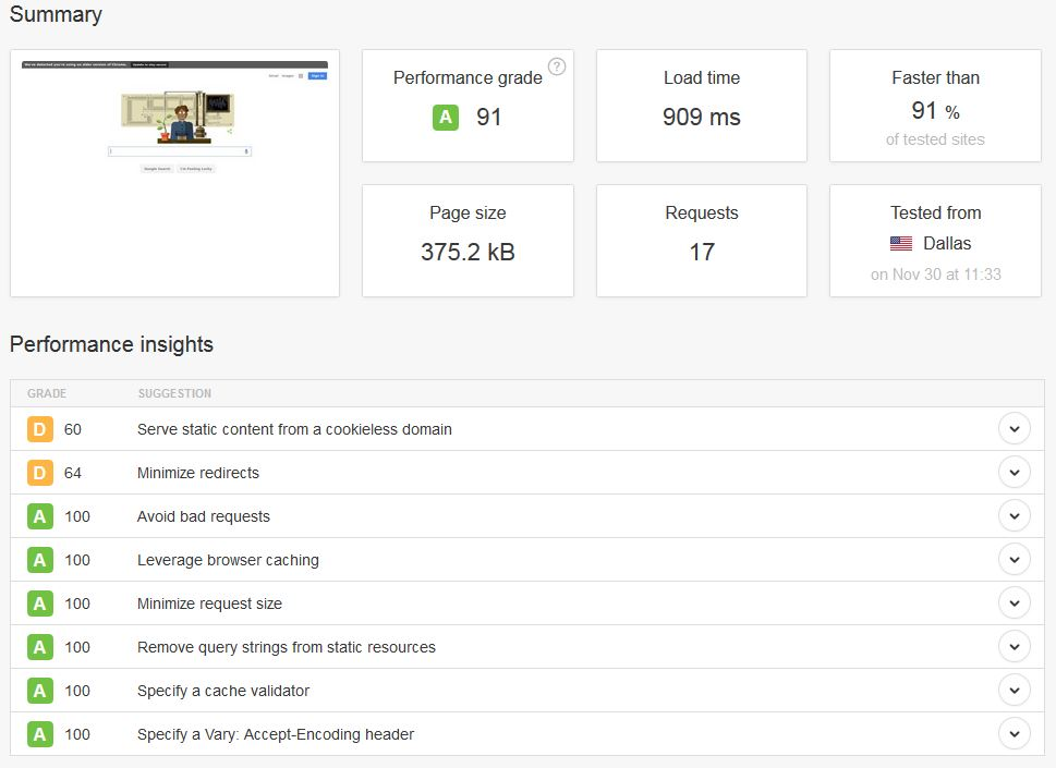 pingdom-website-speed-tool